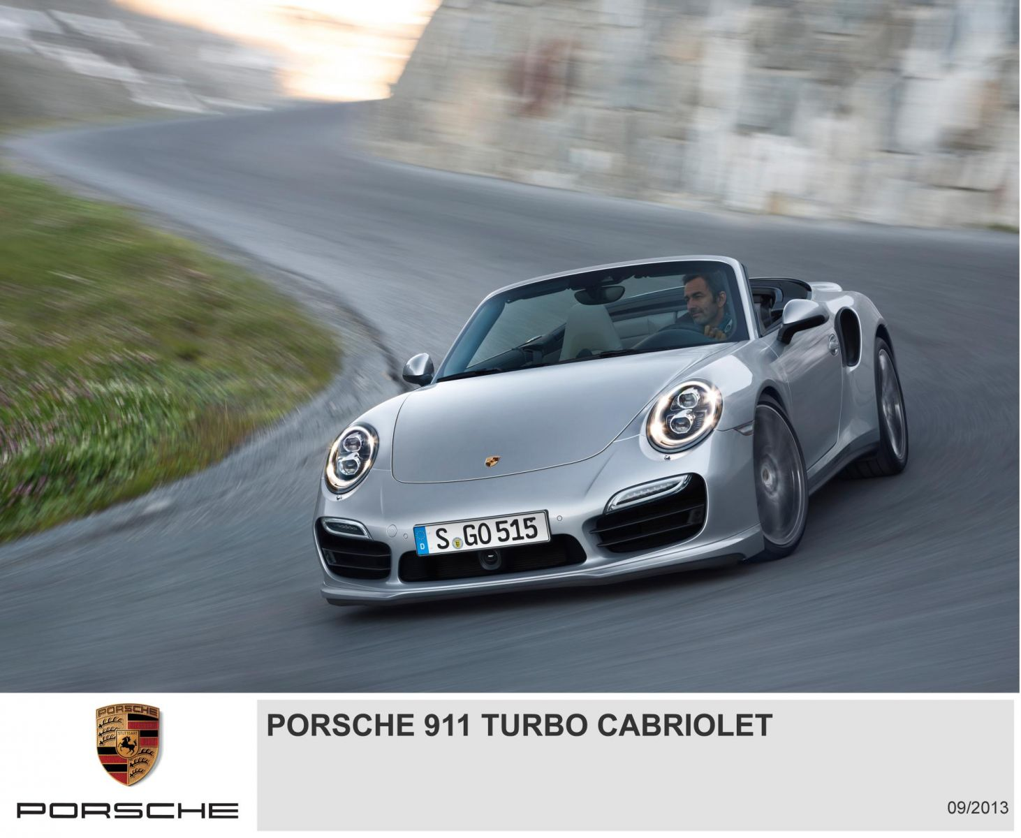 Porsche 911 Turbo Cabriolet - Action shot