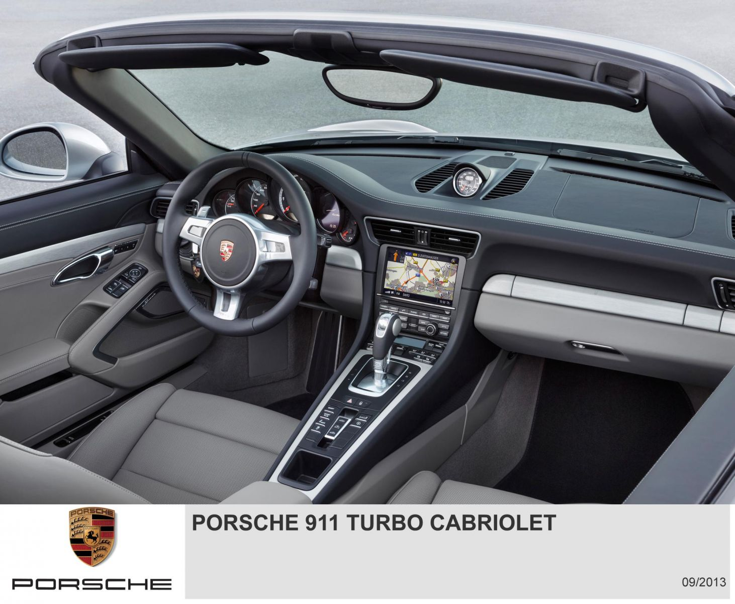 Porsche 911 Turbo Cabriolet - Interior