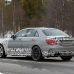Mercedes Benz C63 AMG sedan 2015 Spy 45
